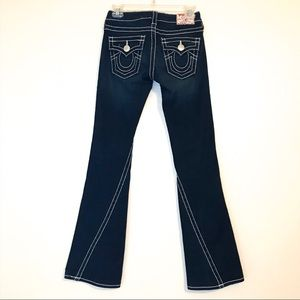 True Religion Disco Joey Big T Flare Jeans 24